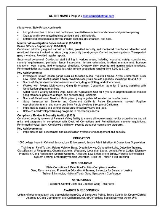 corrections officer resume example correctional exbc21b good professional summary for Resume Correctional Officer Resume