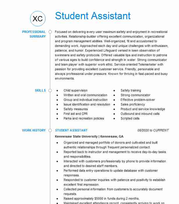 counselor and lifeguard resume example ymca of description for study abroad experience on Resume Description Of Camp Counselor For Resume