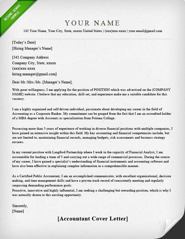 cover letter template accounting for resume sample job application and samples assisted Resume Accounting Resume And Cover Letter Samples