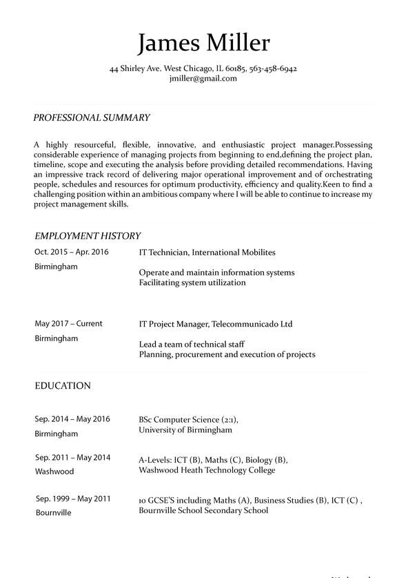 create perfect resume in minutes builder making the carousel cv4 process executive custom Resume Making The Perfect Resume
