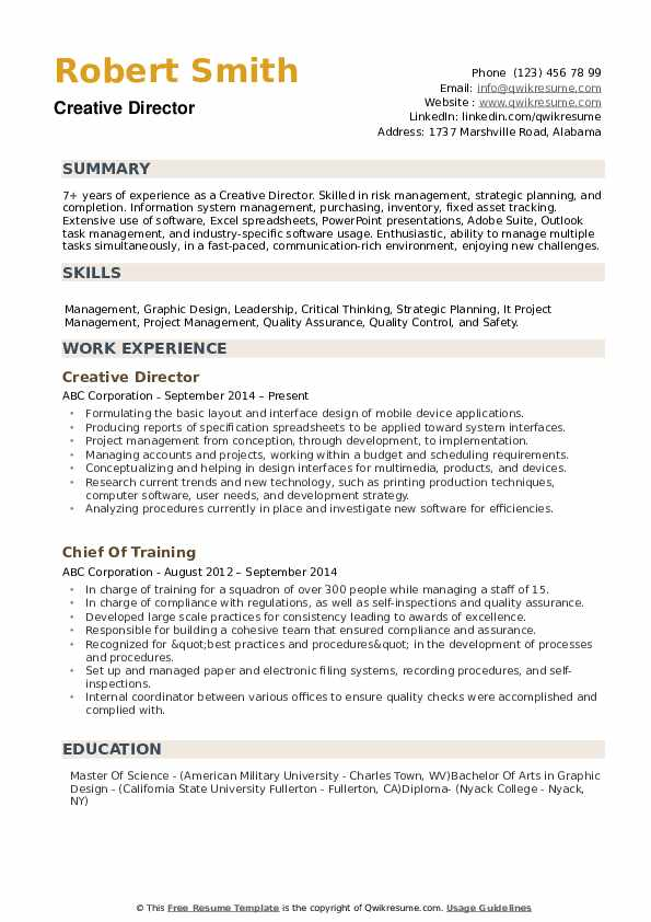 creative director resume samples qwikresume fashion pdf need for working student icu rn Resume Fashion Creative Director Resume