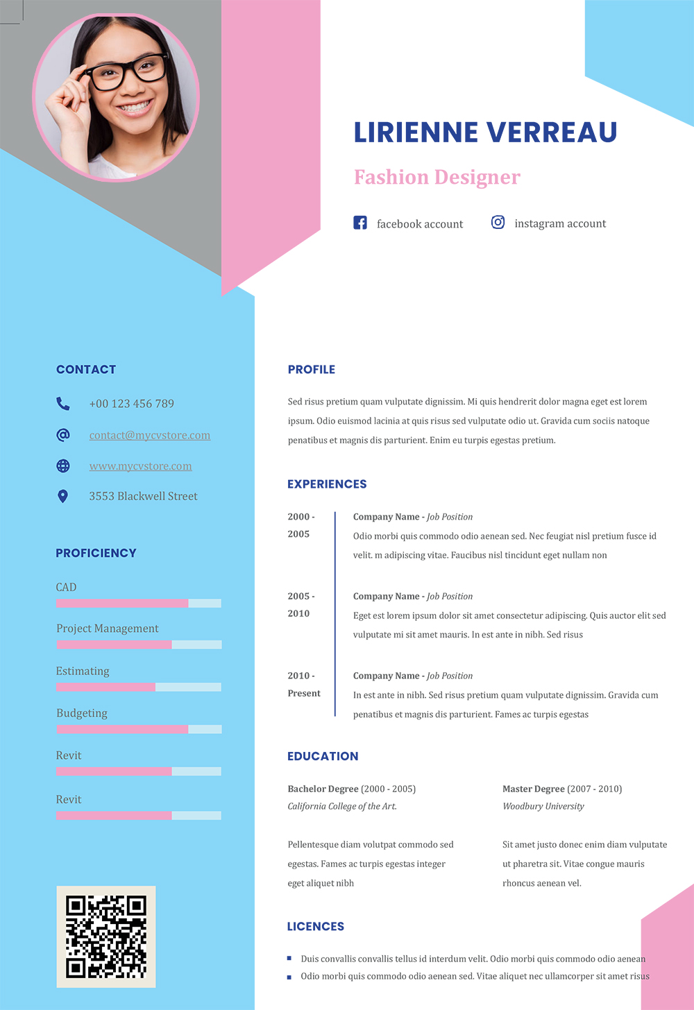 creative infographic resume impressive cv template and cover letter word format team Resume Creative Infographic Resume
