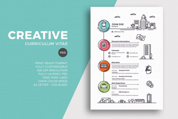 creative resume templates with unique designs theme fun free 750x500 investment banking Resume Fun Resume Templates Free