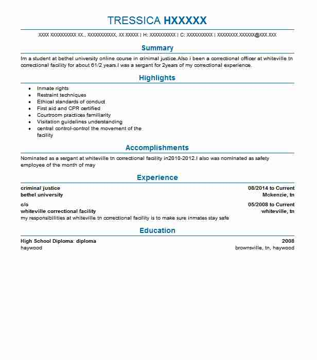 criminal justice intern resume example state university office of student judicial Resume Criminal Justice Resume Objective
