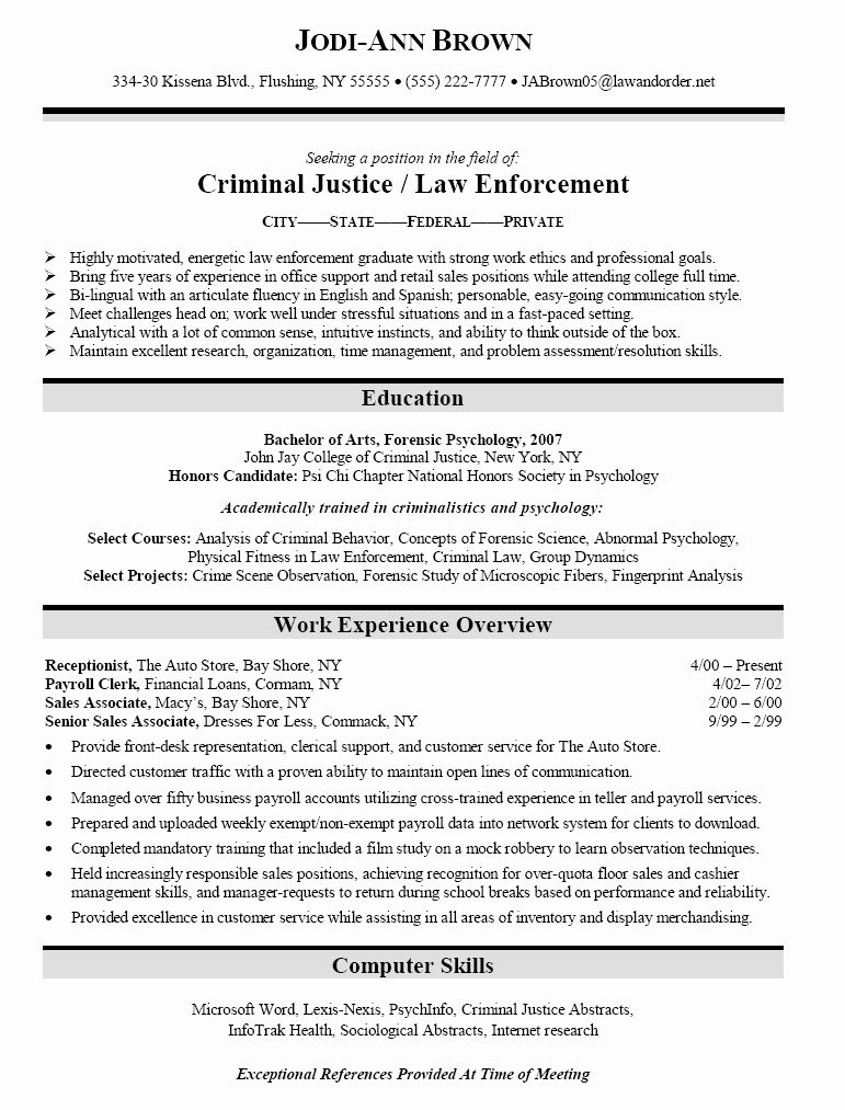 criminal justice resume google search objective examples sample commercial pilot template Resume Criminal Justice Resume Objective