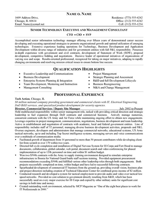 cto resume example chief development officer ex cio1a modern format examples network Resume Chief Development Officer Resume