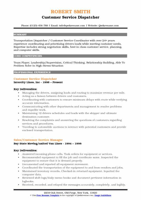 customer service dispatcher resume samples qwikresume skills pdf student organization Resume Dispatcher Resume Skills