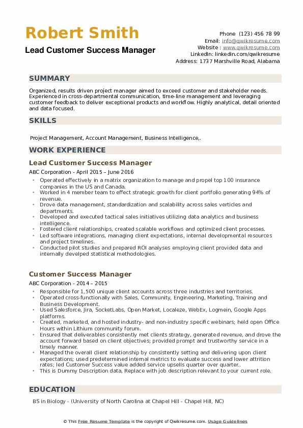 customer success manager resume samples qwikresume pdf writing great objective for classy Resume Customer Success Manager Resume