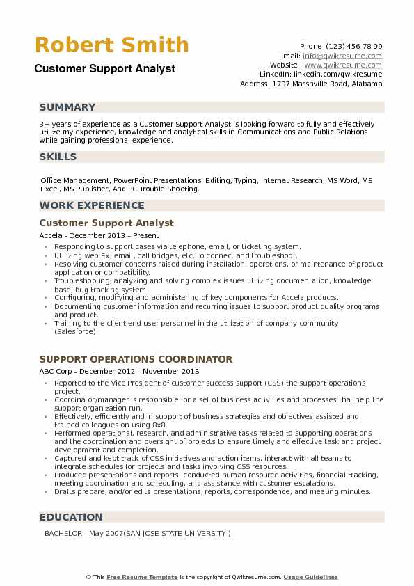 customer support analyst resume samples qwikresume email service pdf writing your Resume Email Customer Service Resume