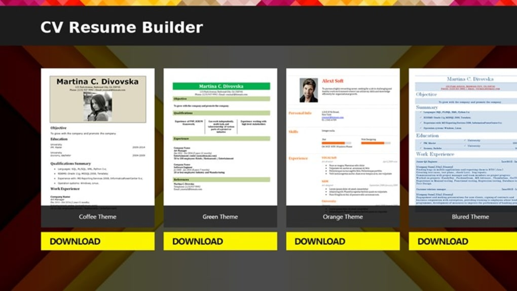 cv resume builder maker for windows screenshot dreyfus affaire professional words chief Resume Resume Maker For Windows