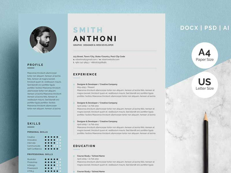 cv template free best resume examples latest professional format licensed insurance agent Resume Latest Professional Resume Format Free Download