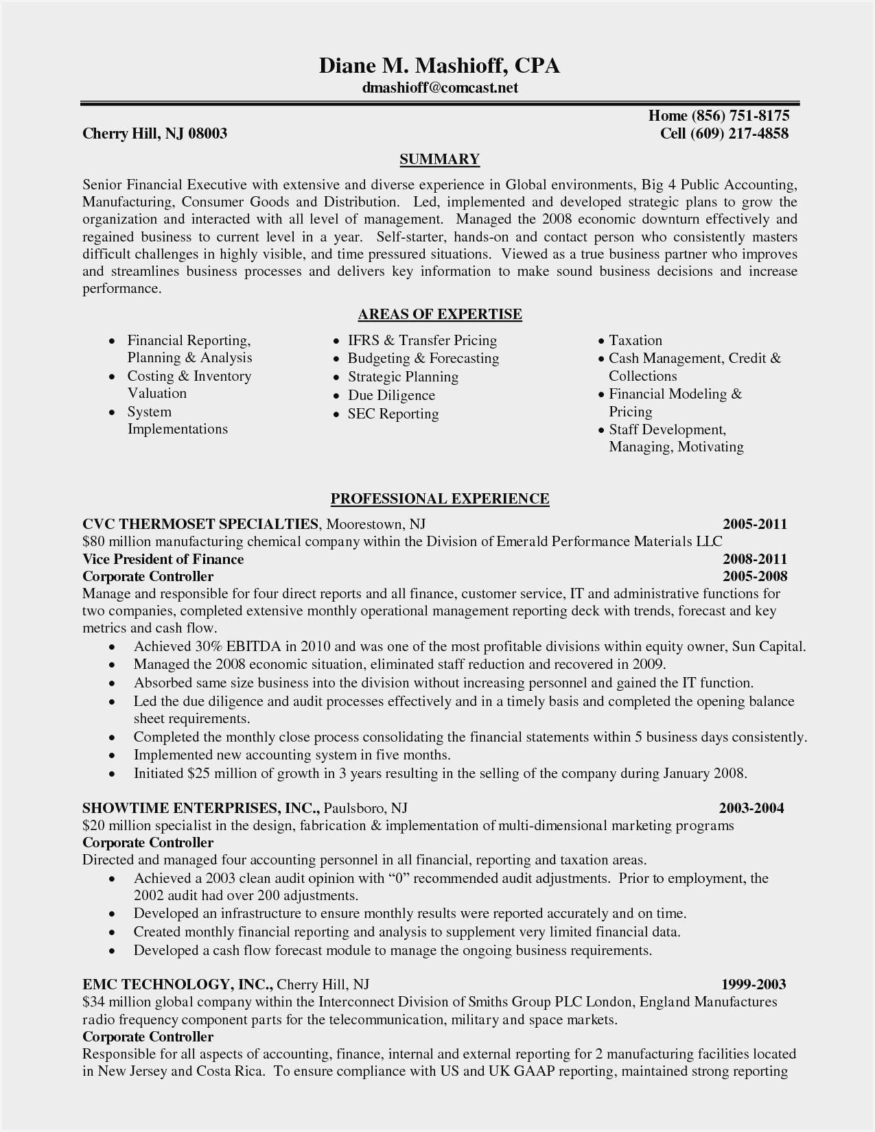cv templates for chartered accountants resume sample ideas of experienced accountant Resume Resume Of Experienced Chartered Accountant