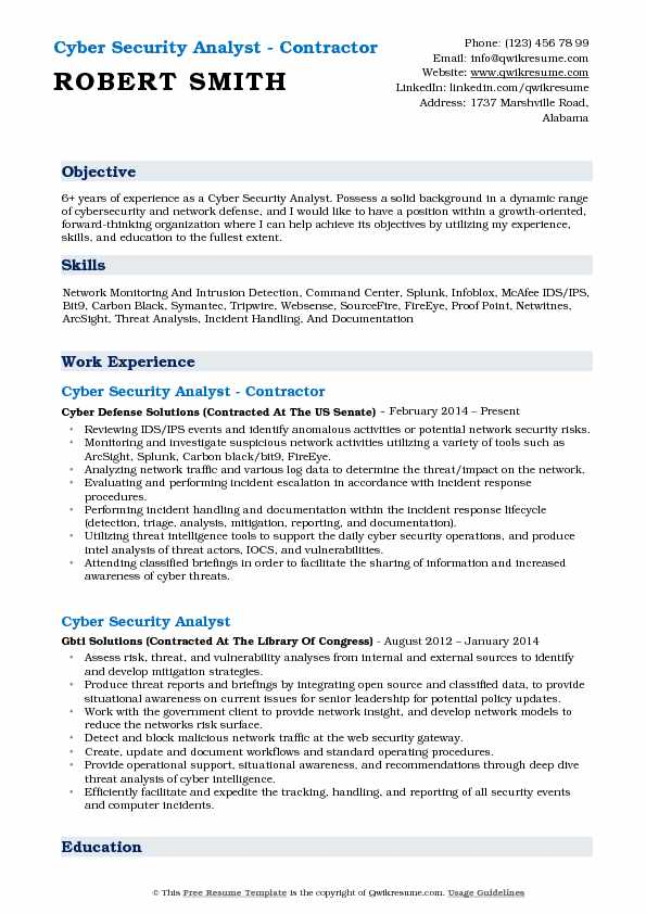 cyber security analyst resume samples qwikresume incident response pdf qlikview developer Resume Incident Response Analyst Resume