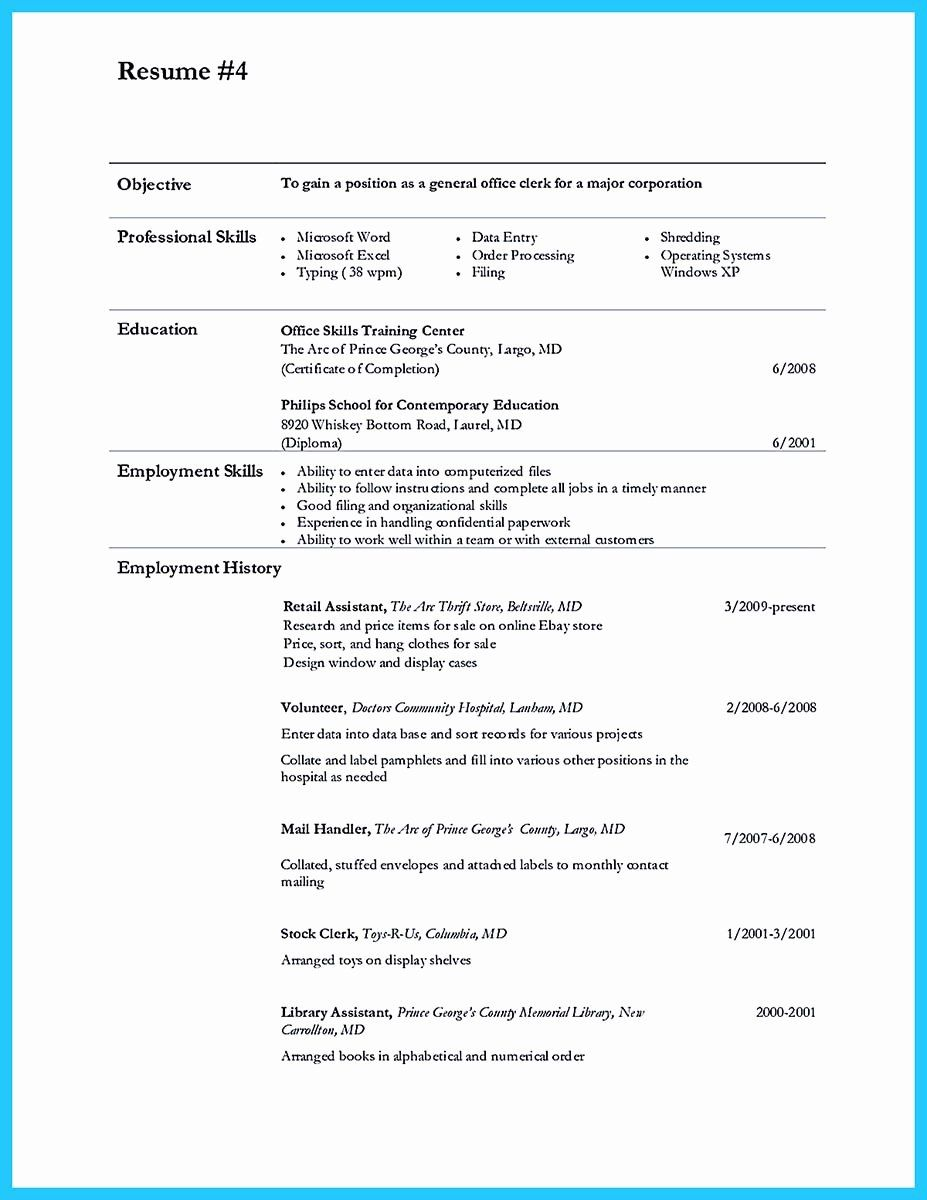 data entry resume objective unique perfect samples to get hired job clerk order writing Resume Order Entry Resume Samples