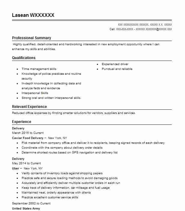 delivery resume example postmates burbank can you put on sample for encoder job Resume Can You Put Postmates On Resume
