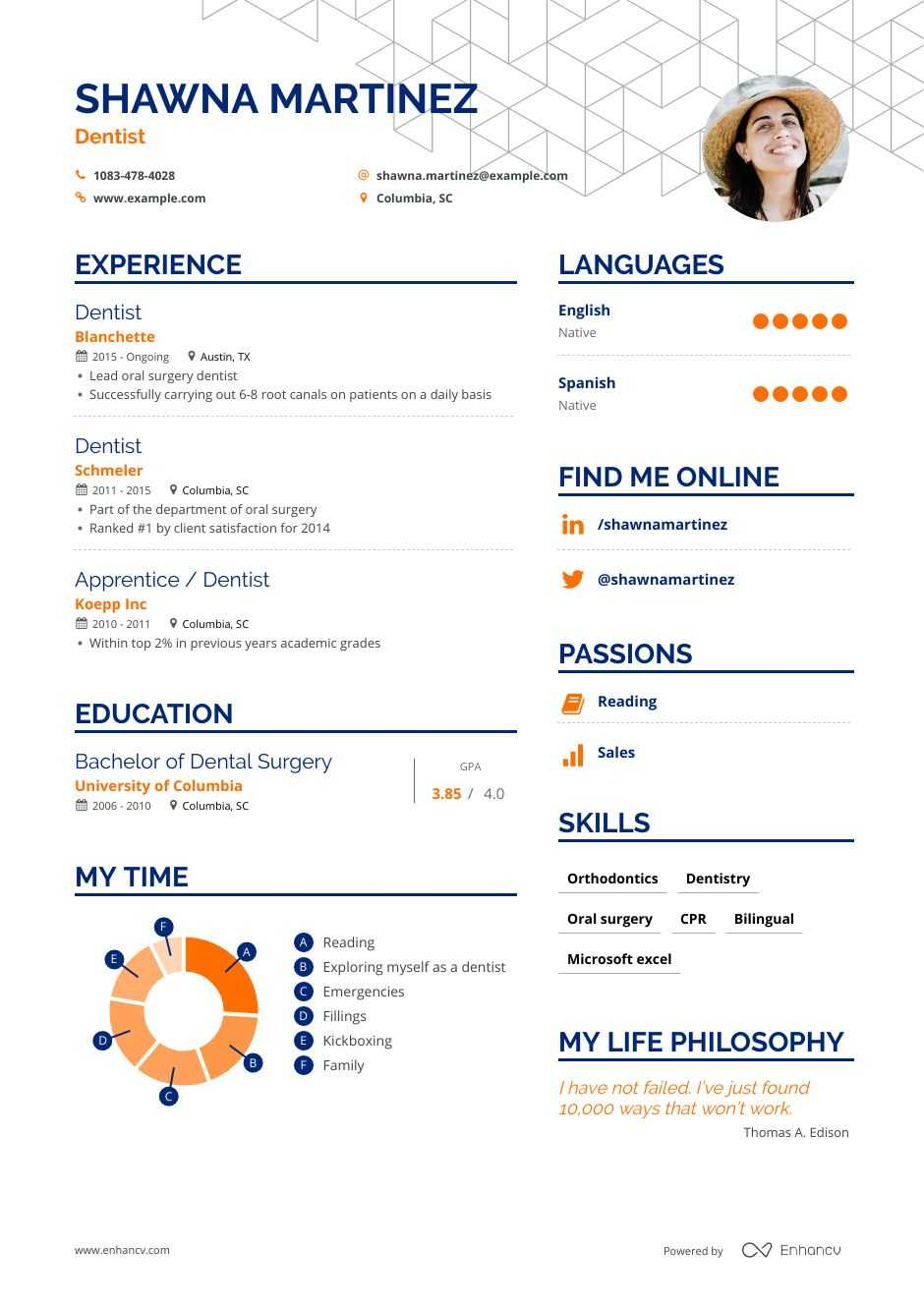 dentist resume examples skills templates more for template teamviewer file transfer cost Resume Dentist Resume Template