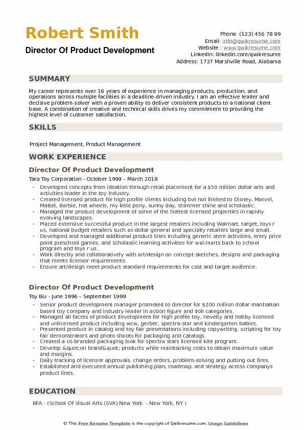 director of product development resume samples qwikresume manager sample pdf when does Resume R&d Manager Resume Sample