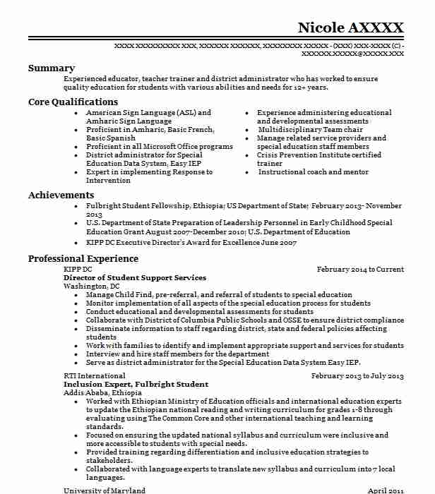 director of support services resume example ochsner health system ponchatoula sample for Resume Sample Resume For Student Support Services