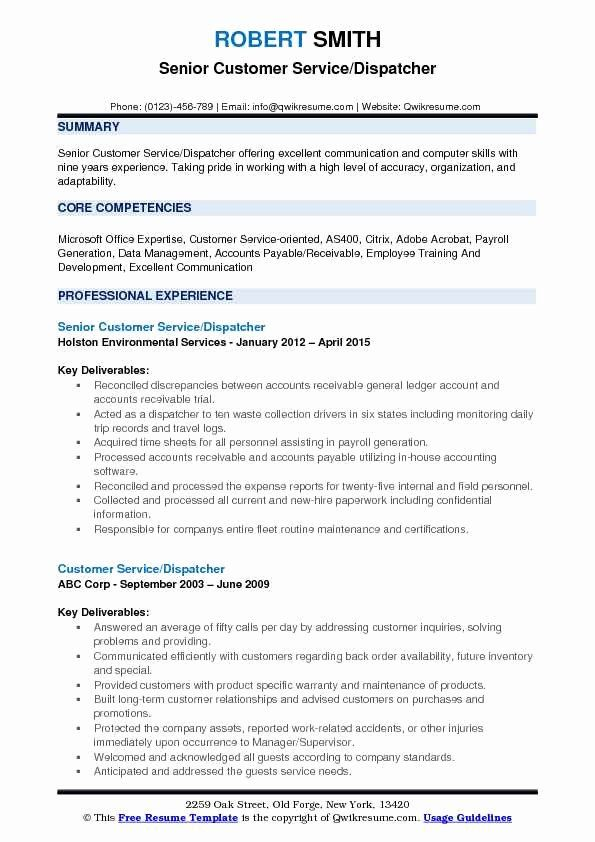 dispatcher job description resume unique customer service samples in interview tips for Resume Customer Service Job Description For Resume