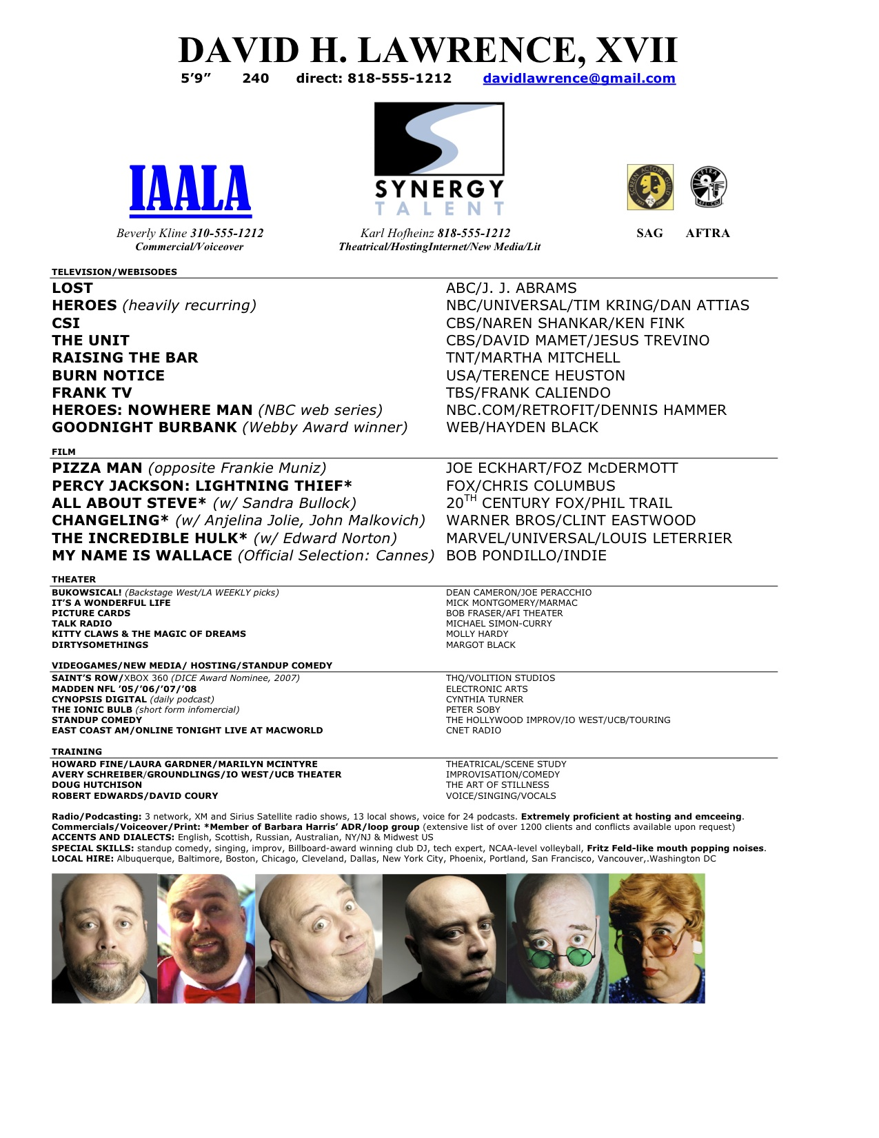 do create the perfect acting resume answers headshot and format dhlawrencexvii indeed Resume Headshot And Resume Format