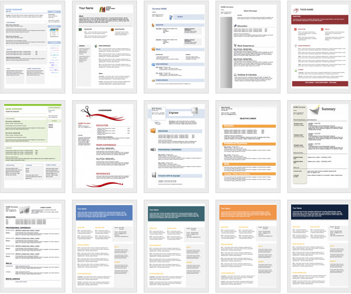 downloadable and editable free cv templates get resume template best document format Resume Editable Resume Template