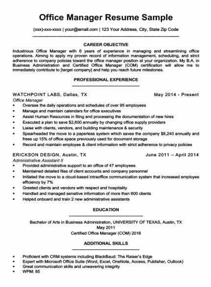 easy job description for administrative assistant resume in objective position credit Resume Resume Objective For Administrative Position
