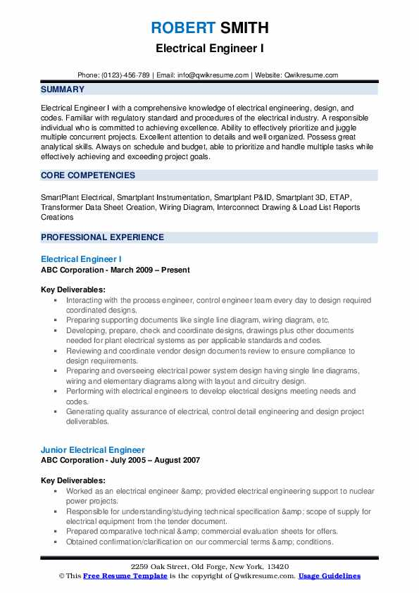 electrical engineer resume samples qwikresume title for pdf mizzou help indian army ex Resume Resume Title For Electrical Engineer