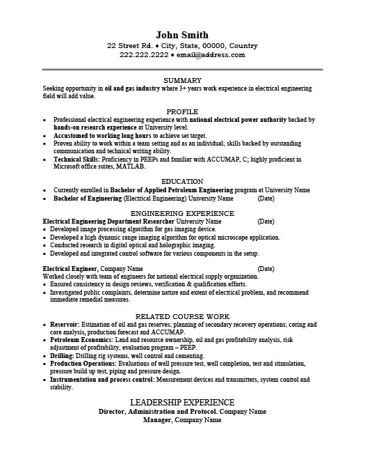 electrical engineer resume template premium samples example sample public relations entry Resume Electrical Engineer Resume Sample