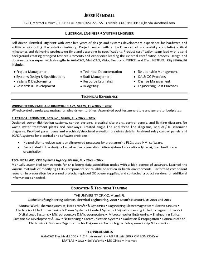electrical engineering cv objective resume builder templates sample headline for fresher Resume Resume Headline For Fresher Electrical Engineer