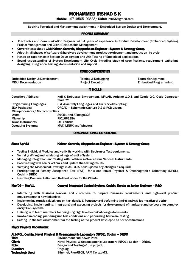 electronics engineer resume foramt embedded testing microsoft templates cinema rin entry Resume Embedded Testing Resume