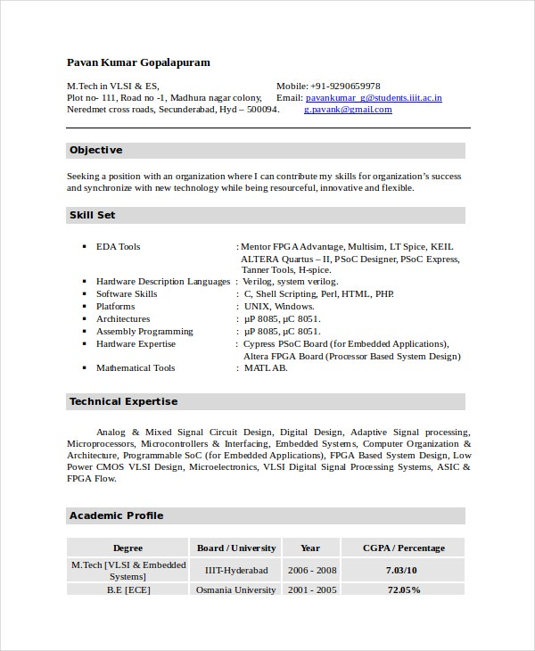 electronics resume template free word pdf document downloads premium templates for school Resume Ece Resume For School Board