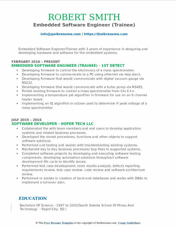 embedded software engineer resume samples qwikresume headline for pdf government Resume Resume Headline For Embedded Software Engineer