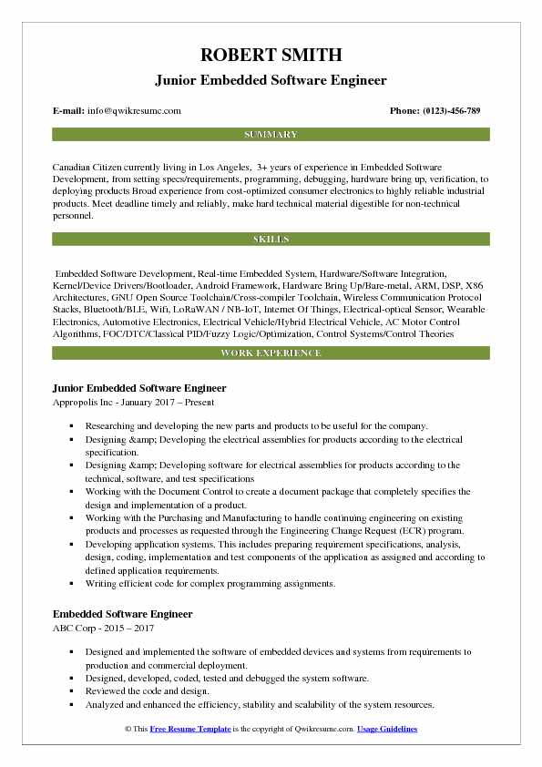 embedded software engineer resume samples qwikresume headline for pdf lil tjay quality Resume Resume Headline For Embedded Software Engineer