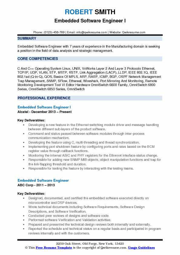 embedded software engineer resume samples qwikresume headline for pdf template internship Resume Resume Headline For Embedded Software Engineer