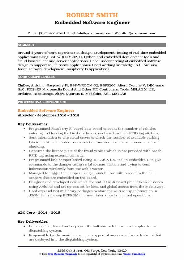 embedded software engineer resume samples qwikresume systems pdf sample first job out of Resume Embedded Systems Resume