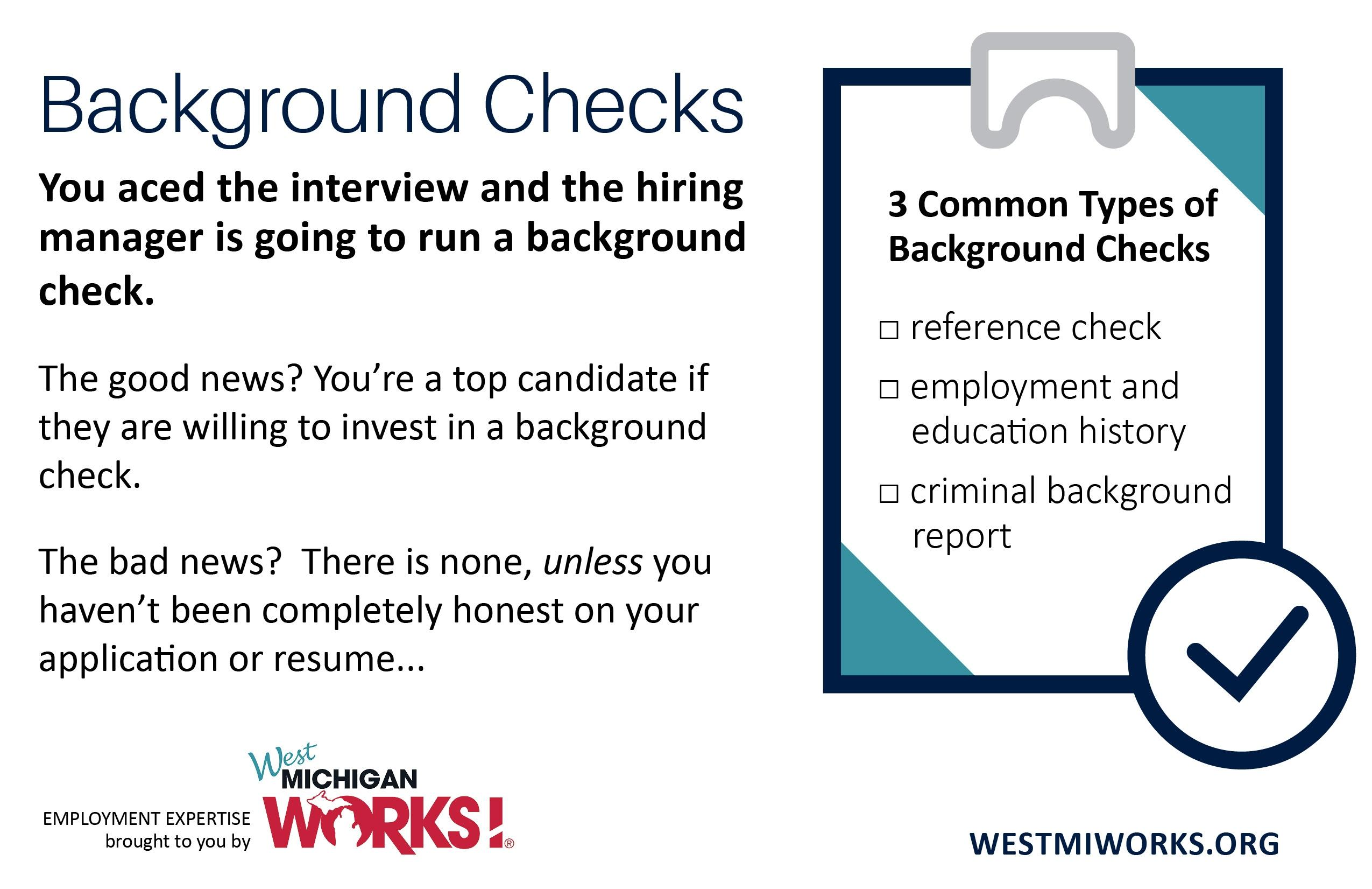 employment expertise the facts about background checks news holland sentinel mi resume Resume Resume Background Check