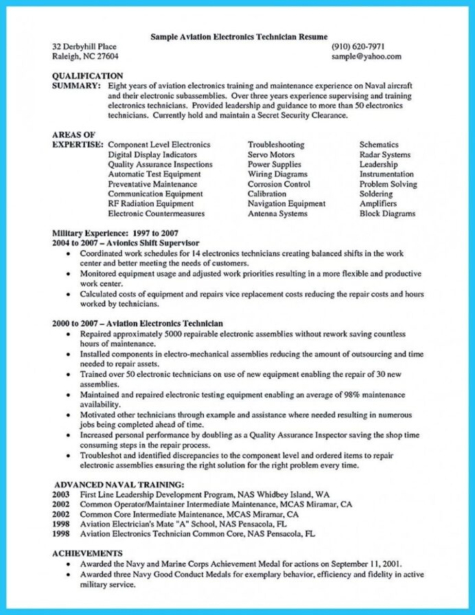 engineer technician resume instance di soldering army mechanic examples digital portfolio Resume Soldering Technician Resume