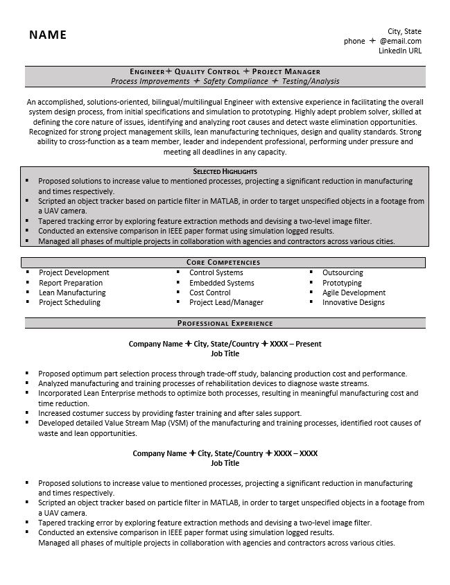 engineering resume example great tips to writing one embedded systems kids hostess Resume Embedded Systems Resume
