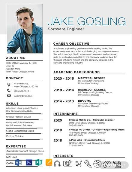 engineering resume template for freshers fresh graduate free simple fresher medical lab Resume Resume Template For Fresh Graduate Free Download