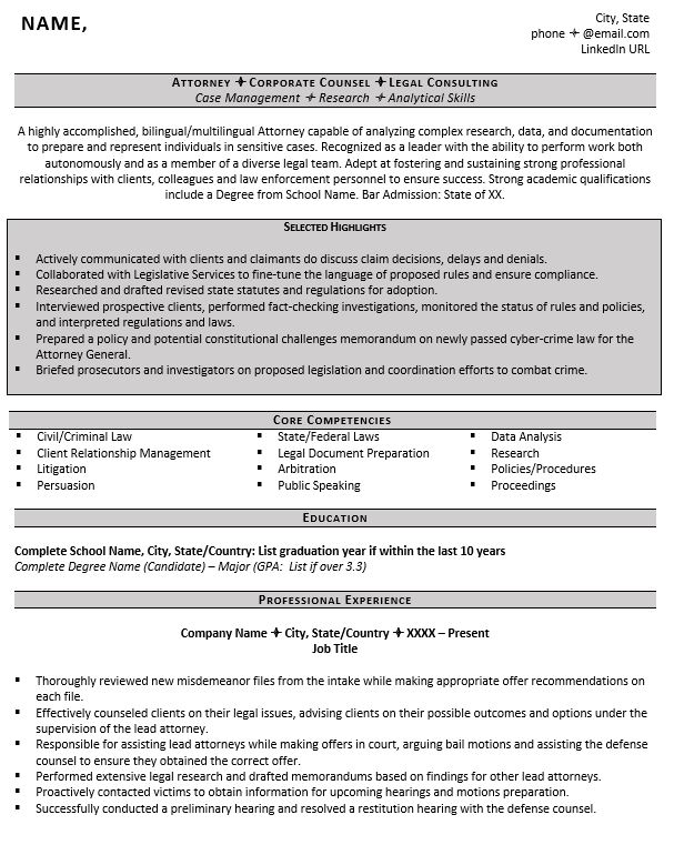 entry level attorney resume example tips zipjob experienced samples legit writing Resume Experienced Attorney Resume Samples