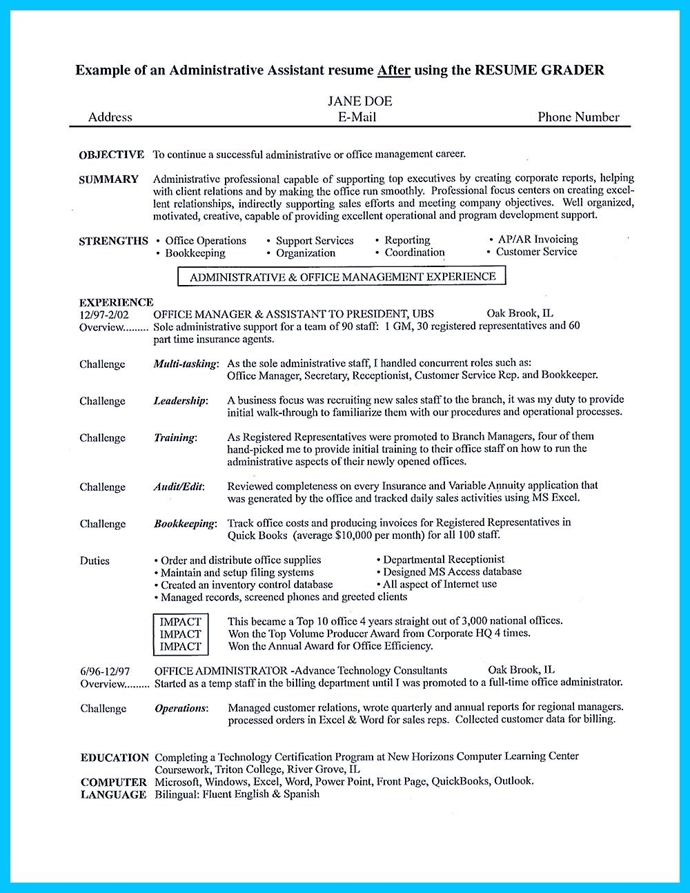 entry level office jobs warehouse administrative assistant resume best free templates for Resume Warehouse Administrative Assistant Resume