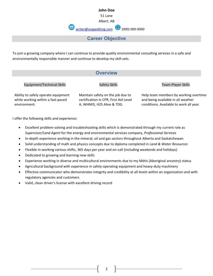 environmental consultant resume reservation specialist for voice process msbi sample Resume Environmental Consultant Resume