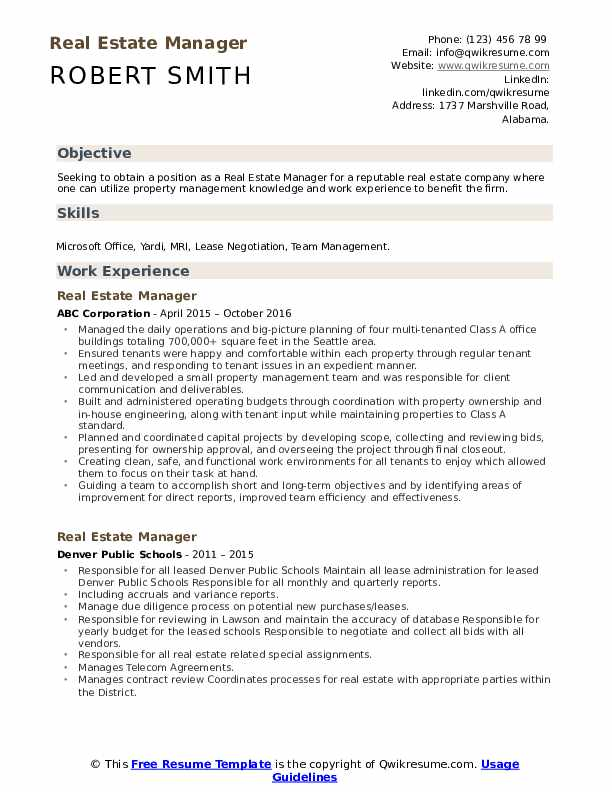 estate manager resume samples qwikresume marketing sample pdf house cleaning description Resume Real Estate Marketing Resume Sample