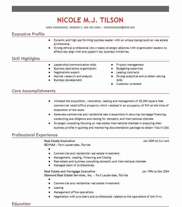 estate marketing account executive resume example zurple middleburg sample icu skills for Resume Real Estate Marketing Resume Sample