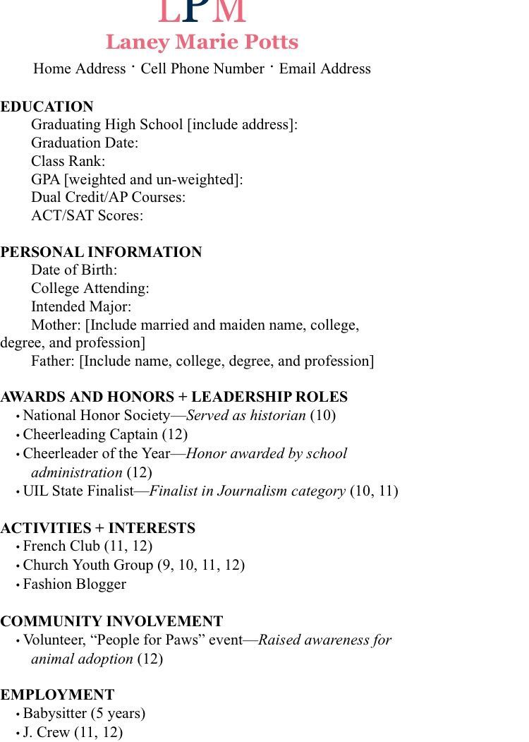 example resume sorority recruitment social template service delivery manager applying Resume Sorority Social Resume Template