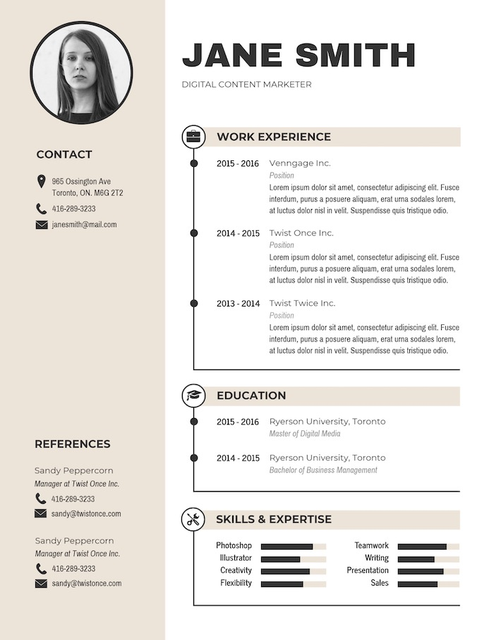 expert resume design ideas from hiring manager modern simple template business ran Resume Modern Simple Resume Template