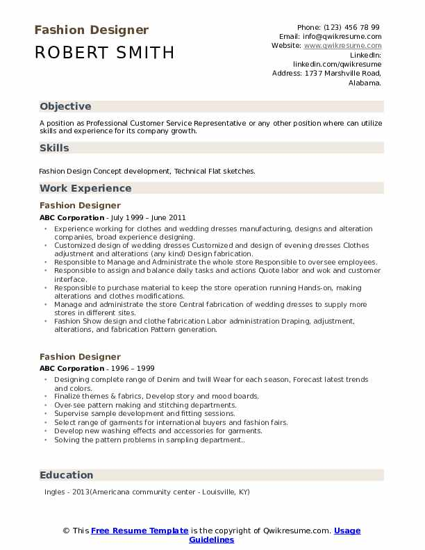 fashion designer resume samples qwikresume objective for pdf sap bods sample sourcing Resume Objective For Fashion Designer Resume