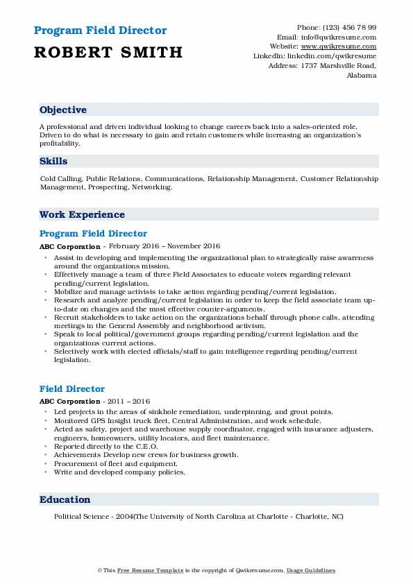 field director resume samples qwikresume areas of growth for pdf cash register Resume Areas Of Growth For Resume