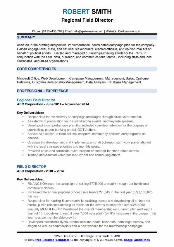 field director resume samples qwikresume campaign pdf guerilla marketing questions for Resume Campaign Director Resume