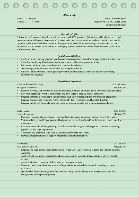 finance manager resume sample ms word format tax office financial military service on Resume Tax Office Manager Resume